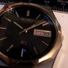 VINTAGE TEXTURED BLACKDIAL SEIKO DATE 8023 WATCH 4U2FIX