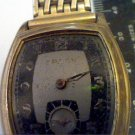 VINTAGE BLACK AND GREY DIAL GRUEN SQUARE WATCH 4U2FIX