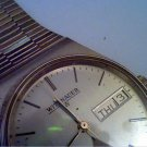 VINTAGE 7 JEWEL SWISS QUARTZ WITTNAUER DATE WATCH RUNS