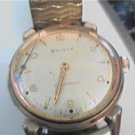 VINTAGE 1959 BULOVA WATERPROOF WATCH RUNS 4U2FIX HAND