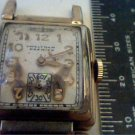 RARE VINTAGE DRIVER LUG WALTHAM SQUARE GF WATCH 4U2FIX