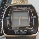 RARE SWISS MODULE ADVANCE LCD ALARM WATCH