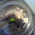 VINTAGE 1987 SEE THRU DIAL SWATCH WATCH RUNS 4U2FIX