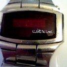 VINTAGE STEEL WITTNAUER RED LED POLARA WATCH 4U2FIX