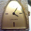 VINTAGE WGF BEZEL SQUARE LONGINES WATCH RUNS 4U2FIX