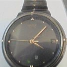 UNSUAL VINTAGE GREY DIAL SEIKO DATE QUARTZ WATCH 4U2FIX