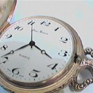 UNUSUAL YVES RENOIR SWISS MADE QUARTZ POCKET WATCH 4FIX