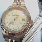 UNUSUAL GRUEN DATE LADIES QUARTZ WR WATCH 4U2FIX BAND