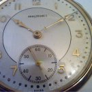 VINTAGE ARMSTRONG'S CLINTON 7 JEWEL POCKET WATCH 4U2FIX