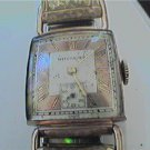 VINTAGE UNIQUE DRIVER LUG WITTNAUER SQUARE WATCH 4U2FIX