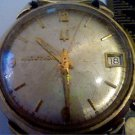 VINTAGE 1970 BULOVA 218 ACCUTRON DATE WATCH RUNS 4U2FIX
