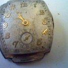 VINTAGE 1949 BULOVA 17 JEWEL 10BH MOVEMENT 4U2FIX