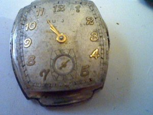 VINTAGE 1949 BULOVA 17 JEWEL 10BH MOVEMENT 4U2FIX