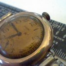 VINTAGE 10KT GOLD FILLED ELGIN SUB DIAL WATCH 4U2FIX