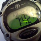 NICE LADIES TIMEX INDIGLO EXPEDITION LCD WATCH RUNS