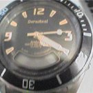ARMITRON DURASTEEL BLACK DIAL DUAL TIME QUARTZ WATCH