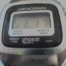 VINTAGE PHASAR CHRONOGRAPH LCD WATCH RUNS