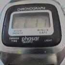 VINTAGE PHASAR CHRONOGRAPH LCD WATCH RUNS