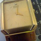 VERY SMALL SIZE BAND SEKO SQUARE MENS WATCH 4 LADY RUNS
