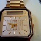 VINTAGE DUAL TIME TIMEC LCD CHRONO ALARM WATCH 4U2FIX