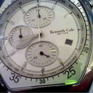 KENNETH COLE NEW YORK CHRONOGRAPH WATCH RUNS 4U2FIX