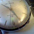VINTAGE HELBROS AUTOMATIC WATCH RUNS 4U2FIX CASE CROWN