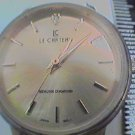 UNIQUE LADIES LE CHATERU GENUINE DIAMOND ON DIAL WATCH