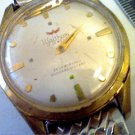 VINTAGE 17 JEWEL WALTHAM AUTO WATCH RUNS 4U2FIX HANDS