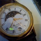 LADIES VALENTINO MOOONPHASE DATE WATCH RUNS 4U2FIX GLAS