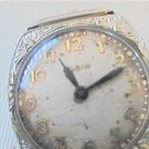 ART DECO 15 JEWEL 14KT GOLD LADY ELGIN WATCH 4U2FIX