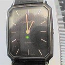 SQUARE BLACK DIAL CASE CATENA SWISS QUARTZ WATCH 4U2FIX