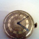 VINTAGE GRUEN PAN AM 12-24HR DIAL MOVEMENT 4U2FIX RUNS