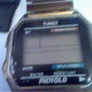 VINTAGE SQUARE TIMEX INDIGLO SPLIT SECOND WATCH RUNS