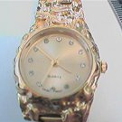 UNUSUAL YGP STONE DIAL SWISS QUARTZ LADIES WATCH RUNS