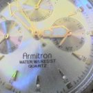 RARE TRIPLE DATE ARMITRON QUARTZ WATCH RUNS L@@K