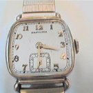 RARE VINTAGE HAMILTON SQUARE MARTIN WATCH RUNS 4FIX