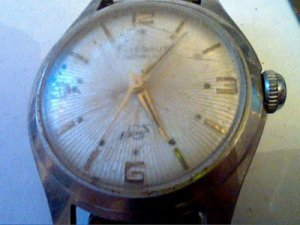 VINTAGE FLIEGAUF HYDE ALL STEEL INCABLOC WATCH 4U2FIX
