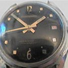 UNUSUAL BLACK DIAL TERRAMAR DIVER WATCH 4U2FIX