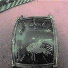 RARE BLACK DIAL 21 JEWEL ELGIN SQUARE WATCH 4U2FIX