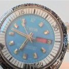 UNUSUAL WORLD TIME BEZEL DAY DATE LORD NELSON WATCH RUN