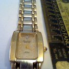 2 TONE ARMITRON NOW DIAMOND QUARTZ LADIES WATCH RUNS