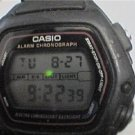 casio dw280 electro backlight lcd watch runs needs band
