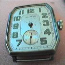 ART DECO CASE WALTHAM SQUARE WATCH 4U2FIX no glass