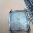 1954 BULOVA SQUARE WATCH RUNS 4U2FIX