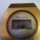 HEAVY THICK VINTAGE 1970'S MICROMA LCD RUNS 4U2FIX LITE