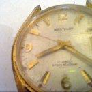 VINTAGE 17 JEWEL WESTCLOX DATE WINDUP WATCH RUNS 4U2FIX