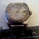 VINTAGE 17 JEWEL LADIES SEIKO 2516-0130 DATE WATCH 4U2FIX