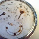 LARGE VINTAGE JUNGHANS 3 DIAL POCKET WATCH TIMER 4U2FIX