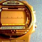 VINTAGE TIMEX INDIGLO MARATHON LCD CHRONO WATCH RUNS