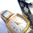 BEAUTIFUL 1974 LADIES CARAVELLE WINDUP WATCH RUNS